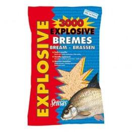 Прикормка Sensas 3000 Explosive Bremes 1 кг (Лещ)